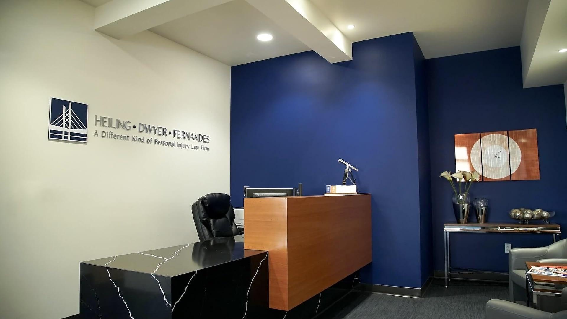 HDF Law office entrance