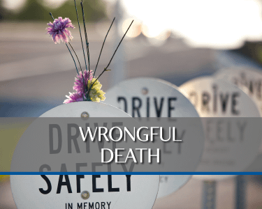 Wrongful Death Accident Picture is a link to Practice area for Attorneys Heiling, Dwyer, Fernandes