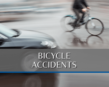 Bike Accident Picture is a link to Practice area for Attorneys Heiling, Dwyer, Fernandes